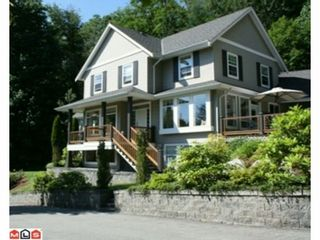 """Photo 2: 4550 UDY Road in Abbotsford: Sumas Mountain House for sale in """"Sumas Mtn."""" : MLS®# F1117342"""
