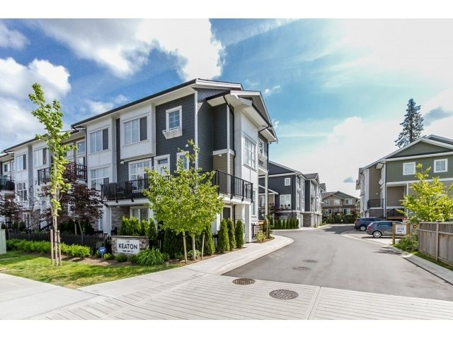 """Main Photo: 5 7686 209 Street in Langley: Willoughby Heights Townhouse for sale in """"KEATON"""" : MLS®# R2071162"""