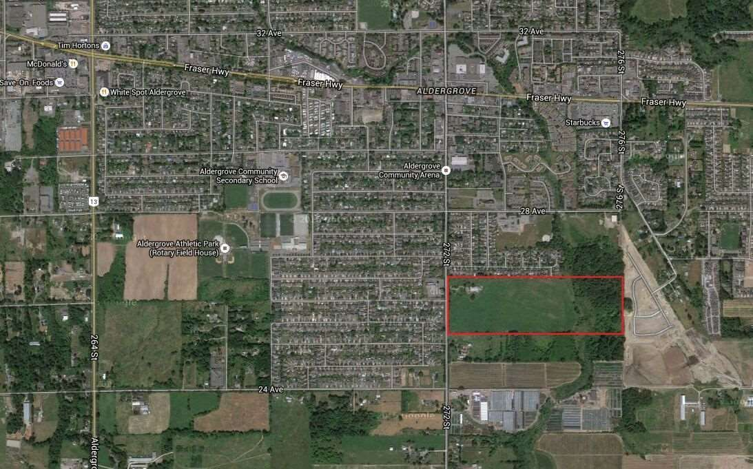 Main Photo: 2620 272 Street in Langley: Aldergrove Langley Agri-Business for sale : MLS®# C8036313