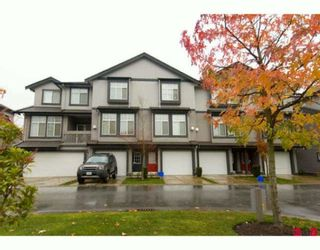 """Photo 1: 8 18828 69TH Avenue in Surrey: Clayton Townhouse for sale in """"STARPOINT"""" (Cloverdale)  : MLS®# F2925562"""