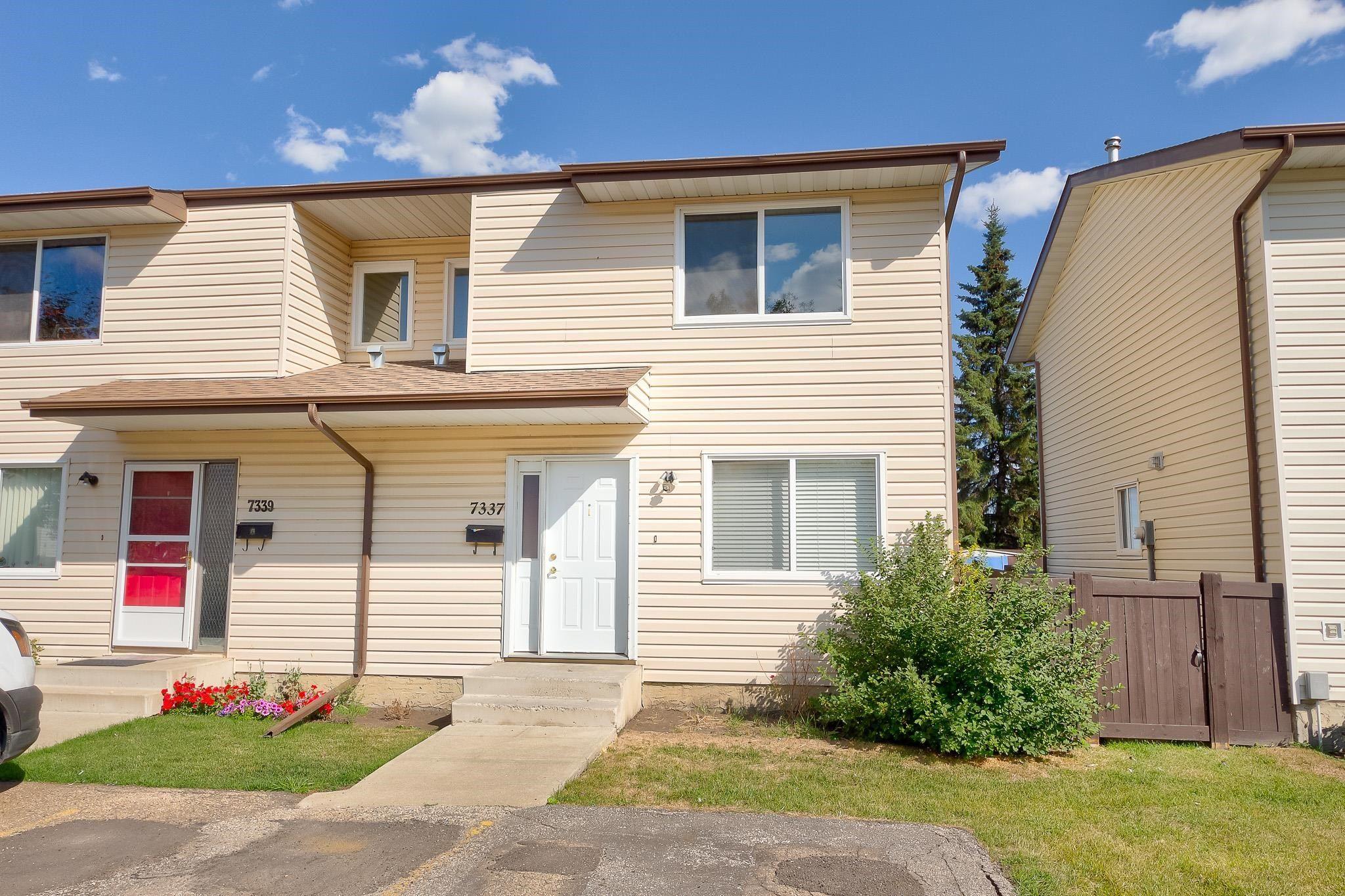 Main Photo: 7337 180 Street in Edmonton: Zone 20 Townhouse for sale : MLS®# E4260363