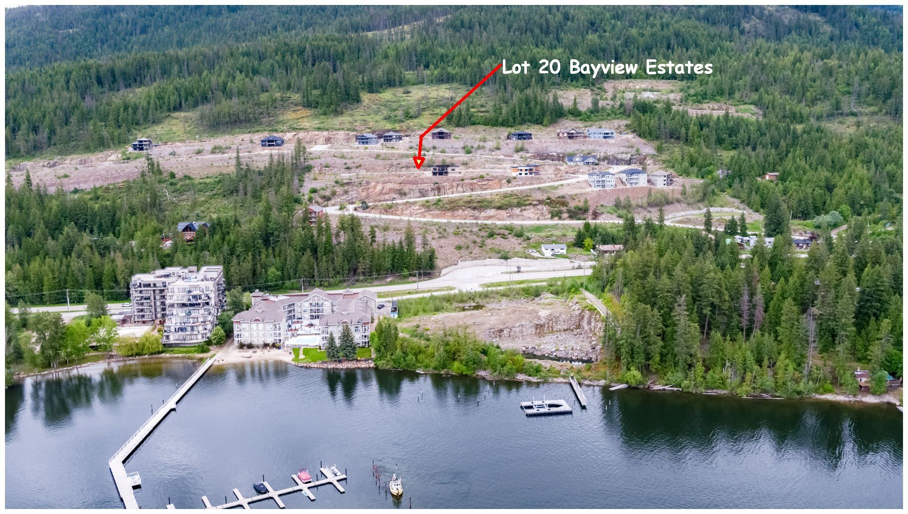 Main Photo: 226 Copperstone Lane in Sicamous: Mara Lake Vacant Land for sale : MLS®# 10205736