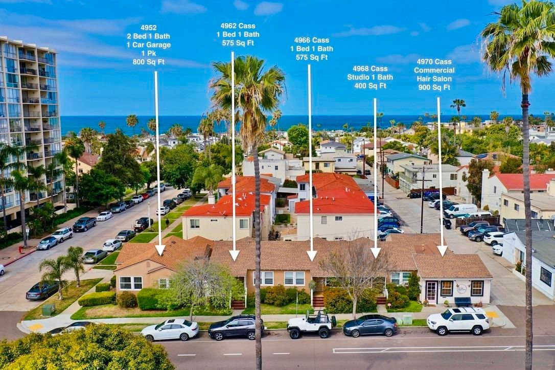Main Photo: PACIFIC BEACH Property for sale: 4952-4970 Cass Street in San Diego