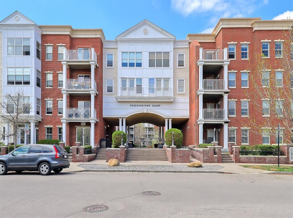 Main Photo: 1301 5605 Henwood Street SW in Calgary: Garrison Green Apartment for sale : MLS®# A1112799
