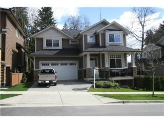 Photo 1: 1287 HOLLYBROOK Street in Coquitlam: Burke Mountain House for sale : MLS®# V1105626