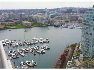 Photo 1: # 2607 1199 MARINASIDE CR in Vancouver: Yaletown Condo for sale (Vancouver West)  : MLS®# V1010569