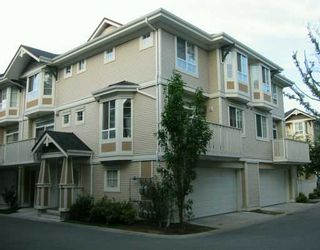 """Photo 1: 14 9079 JONES RD in Richmond: McLennan North Townhouse for sale in """"THE PAVILIONS"""" : MLS®# V607608"""