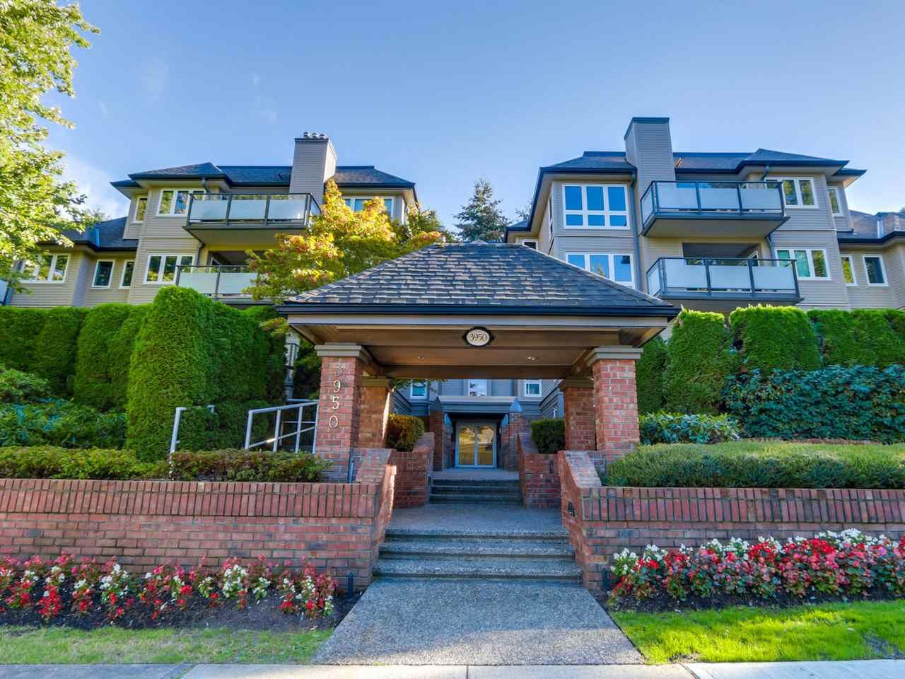 """Main Photo: 101 3950 LINWOOD Street in Burnaby: Burnaby Hospital Condo for sale in """"CASCADE VILLAGE"""" (Burnaby South)  : MLS®# R2109550"""