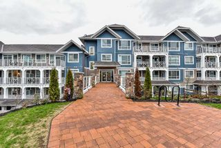 """Photo 1: 302 16380 64 Avenue in Surrey: Cloverdale BC Condo for sale in """"The Ridge at Bose Farms"""" (Cloverdale)  : MLS®# R2153623"""