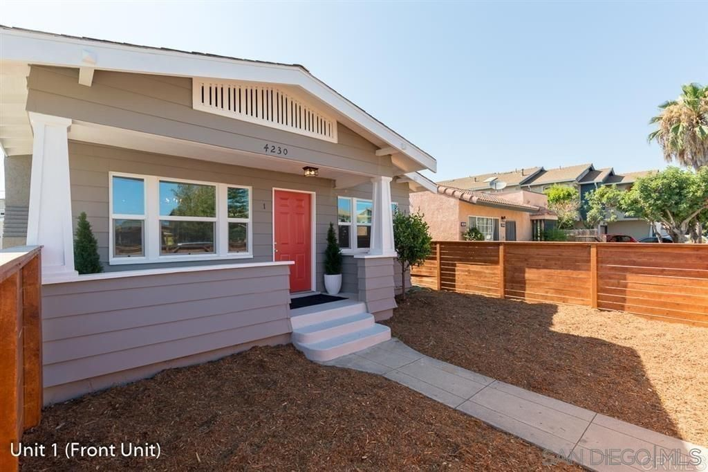Main Photo: CITY HEIGHTS Property for sale: 4230 42nd St in San Diego