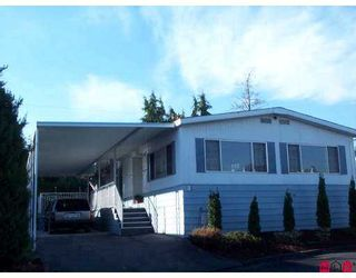 """Photo 1: 8254 134 Street in Surrey: Queen Mary Park Surrey Manufactured Home for sale in """"Westwood Estates"""" : MLS®# F2622406"""