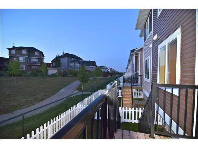 Main Photo: 106 300 MARINA Drive in : Chestermere Townhouse for sale : MLS®# C3632994