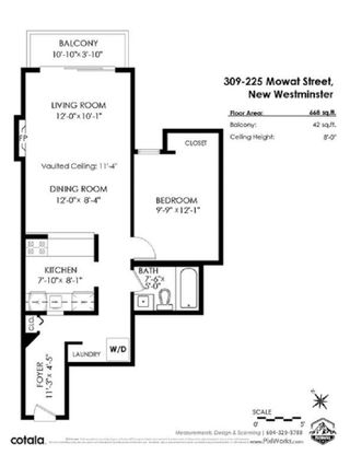 """Photo 20: 309 225 MOWAT Street in New Westminster: Uptown NW Condo for sale in """"THE WINDSOR"""" : MLS®# R2554260"""