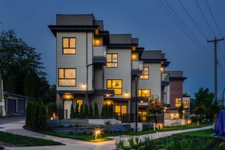 """Main Photo: TH 1 230-232 E 8TH Street in North Vancouver: Central Lonsdale Townhouse for sale in """"HARMONY ON EIGHTH"""" : MLS®# R2610807"""