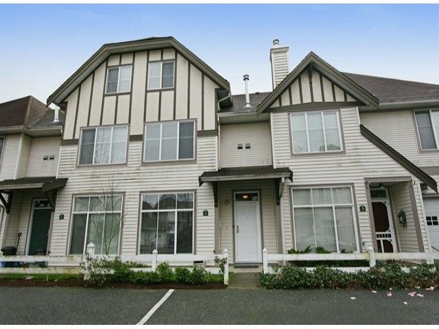 Main Photo: # 19 6465 184A ST in Surrey: Cloverdale BC Condo for sale (Cloverdale)  : MLS®# F1407563