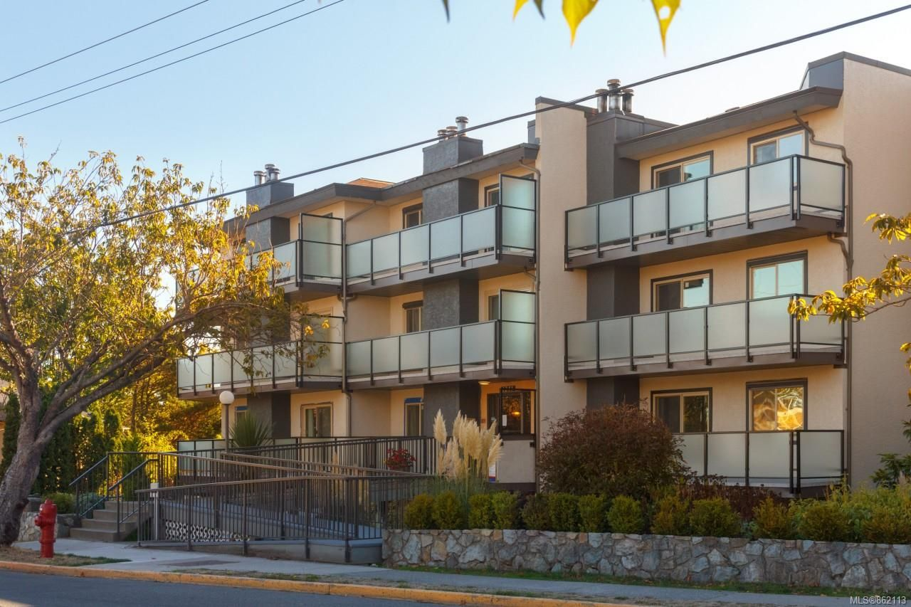 Main Photo: 104 1241 Fairfield Rd in : Vi Fairfield West Condo for sale (Victoria)  : MLS®# 862113