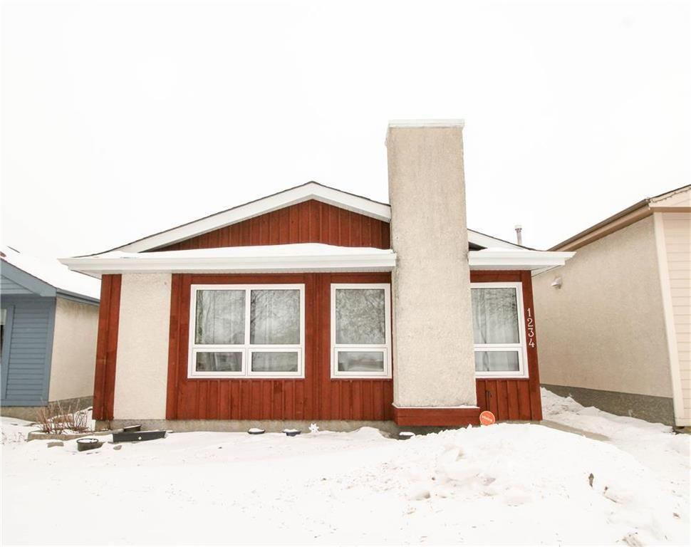 Main Photo: 1234 Devonshire Drive West in Winnipeg: Kildonan Meadows Residential for sale (3K)  : MLS®# 202003385