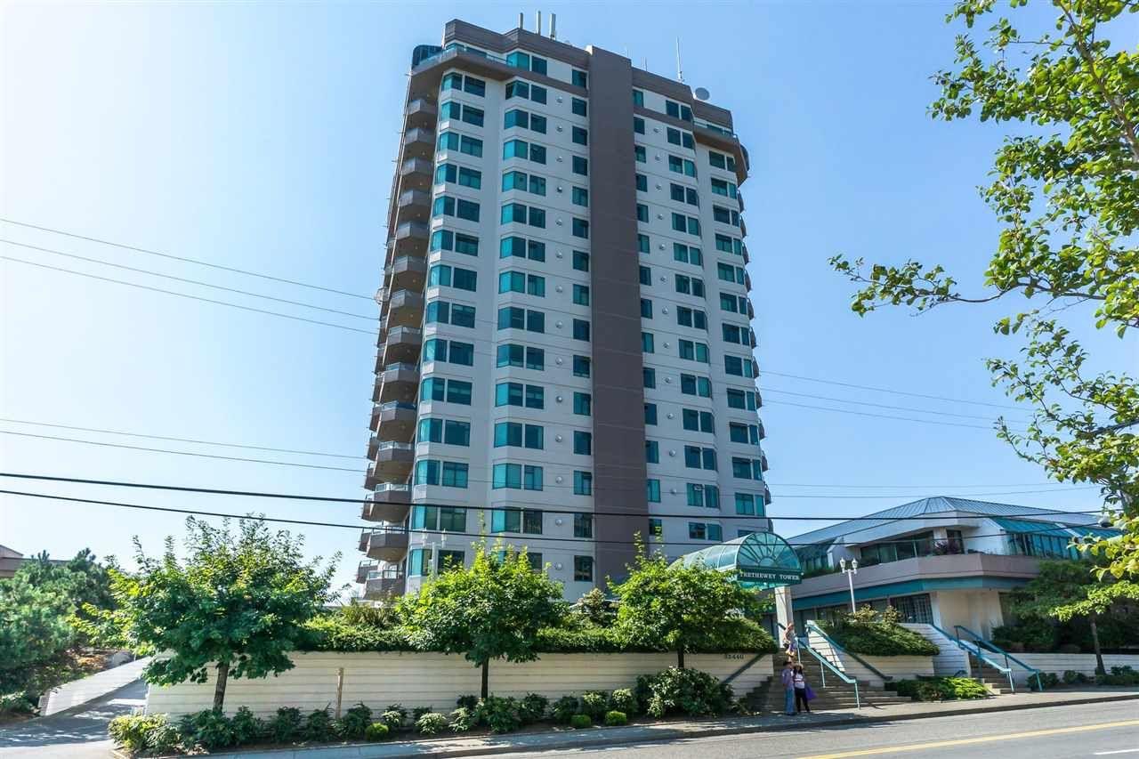 "Main Photo: 803 32440 SIMON Avenue in Abbotsford: Abbotsford West Condo for sale in ""Trethewey Tower"" : MLS®# R2418089"