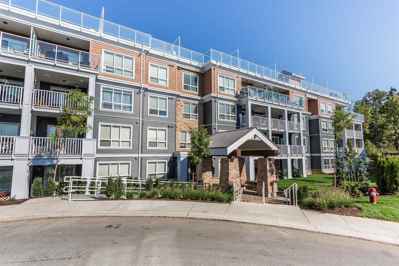 """Main Photo: 402 6470 194 Street in Surrey: Clayton Condo for sale in """"WATERSTONE"""" (Cloverdale)  : MLS®# R2250963"""