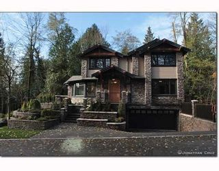 Photo 1: 1239 SINCLAIR CT in West Vancouver: House for sale : MLS®# V798134
