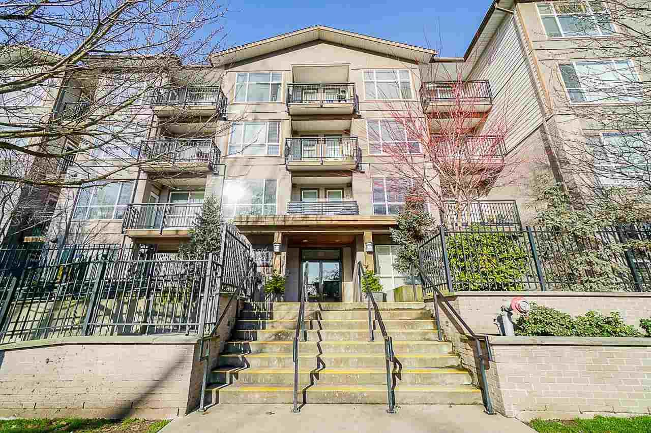 """Main Photo: 304 2343 ATKINS Avenue in Port Coquitlam: Central Pt Coquitlam Condo for sale in """"Pearl"""" : MLS®# R2576786"""
