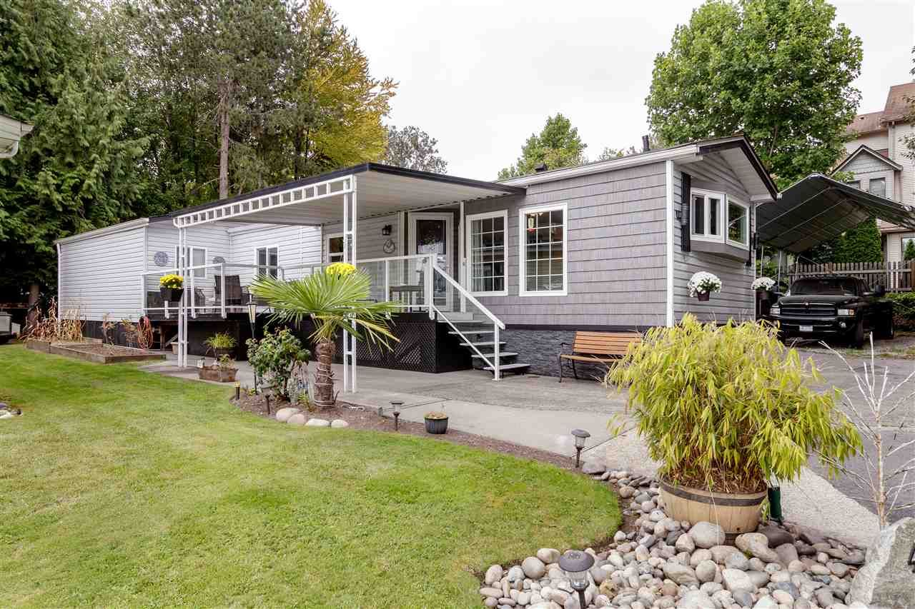 """Main Photo: 42 145 KING EDWARD Street in Coquitlam: Maillardville Manufactured Home for sale in """"MILL CREEK VILLAGE"""" : MLS®# R2509397"""