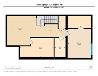 Photo 33: 1485 Legacy Circle SE in Calgary: Legacy Semi Detached for sale : MLS®# A1091996