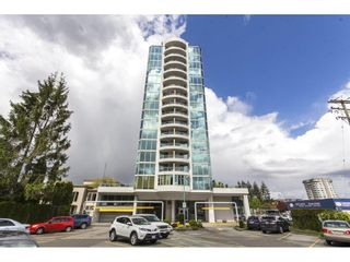 """Photo 3: 803 32330 S FRASER Way in Abbotsford: Abbotsford West Condo for sale in """"Town Centre Tower"""" : MLS®# R2163244"""