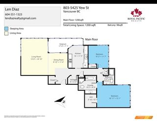 """Photo 26: 803 5425 YEW Street in Vancouver: Kerrisdale Condo for sale in """"THE BELMONT"""" (Vancouver West)  : MLS®# R2563051"""