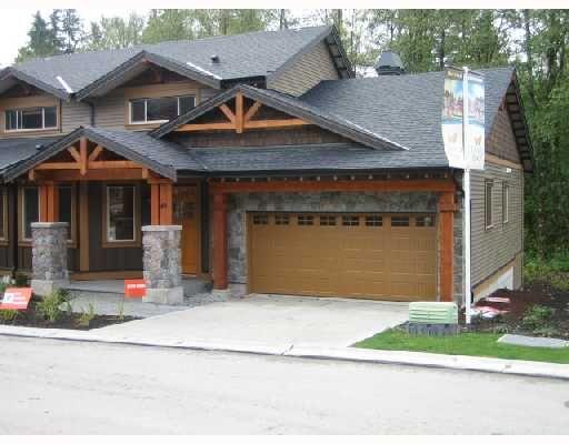 """Main Photo: 49 24185 106B Avenue in Maple_Ridge: Albion 1/2 Duplex for sale in """"TRAILS EDGE"""" (Maple Ridge)  : MLS®# V739483"""