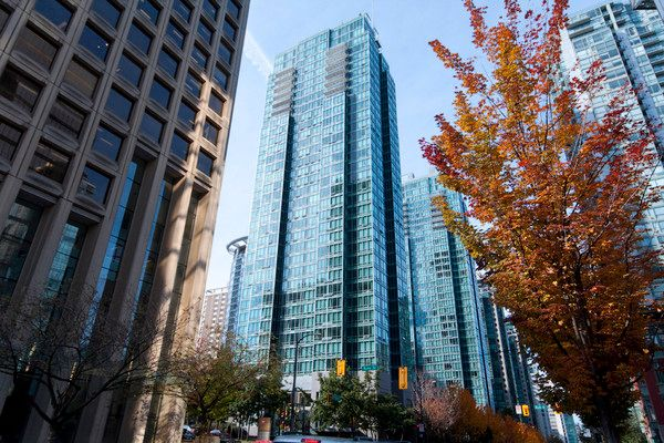 Photo 3: Photos: 1007-1200 W. Georgia St in Vancouver: Coal Harbour Condo for rent (Downtown Vancouver)