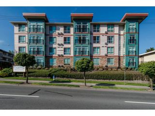 "Photo 1: 411 33485 SOUTH FRASER Way in Abbotsford: Central Abbotsford Condo for sale in ""Citadel Ridge"" : MLS®# R2565368"