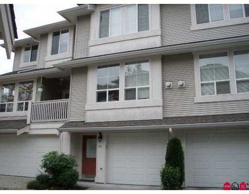 """Main Photo: 66 14952 58TH Avenue in Surrey: Sullivan Station Townhouse for sale in """"Highbrae"""" : MLS®# F2725539"""