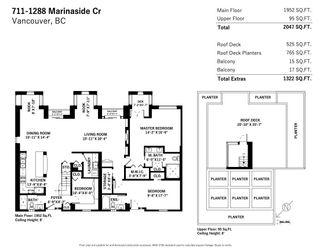 """Photo 30: 711 1288 MARINASIDE Crescent in Vancouver: Yaletown Condo for sale in """"Crestmark I"""" (Vancouver West)  : MLS®# R2591055"""