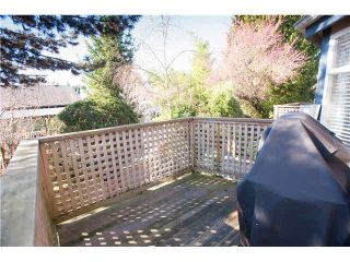 """Photo 18: 6 1195 FALCON Drive in Coquitlam: Eagle Ridge CQ Townhouse for sale in """"THE COURTYARDS"""" : MLS®# V1108276"""