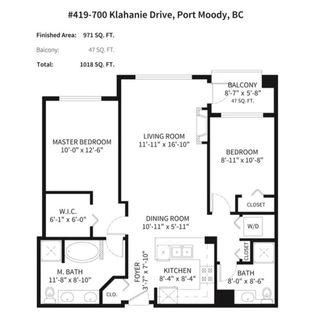 Photo 35: 419 700 KLAHANIE DRIVE in Port Moody: Port Moody Centre Condo for sale : MLS®# R2604117