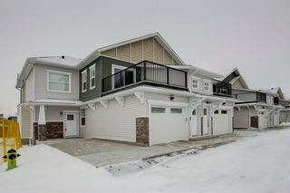 Photo 1: 302 115 Sagewood Drive: Airdrie Row/Townhouse for sale : MLS®# A1077282