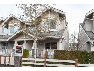 """Photo 1: 47 6568 193B Street in Surrey: Clayton Townhouse for sale in """"Belmont at Southlands"""" (Cloverdale)  : MLS®# R2325442"""