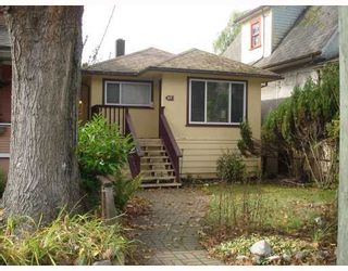 Photo 1: 1137 SEMLIN DRIVE in Vancouver East: Home for sale : MLS®# V674575