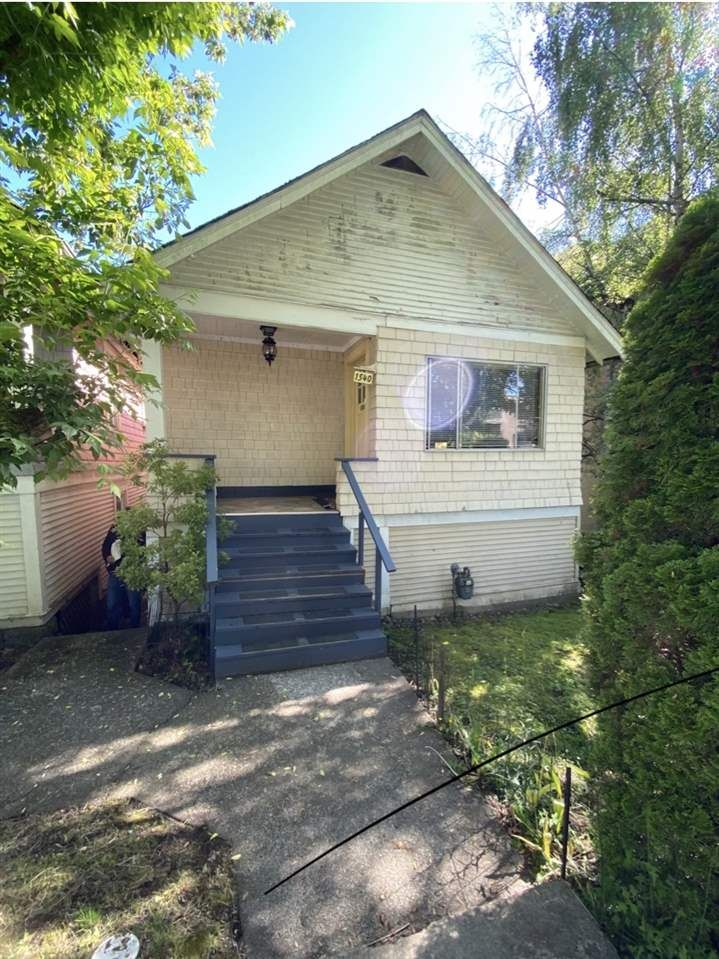 Main Photo: 1540 E. 3RD AVENUE in Vancouver: Grandview Woodland VE House for sale (Vancouver East)  : MLS®# R2461075