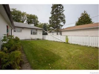 Photo 18: 325 Aldine Street in Winnipeg: Grace Hospital Residential for sale (5F)  : MLS®# 1624293
