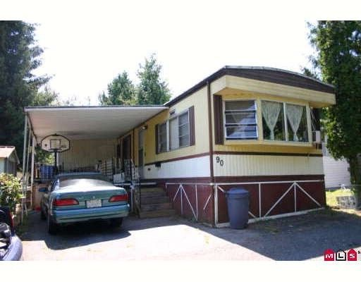 Main Photo:  in King George Mobile Home Park: Home for sale : MLS®# F2822378