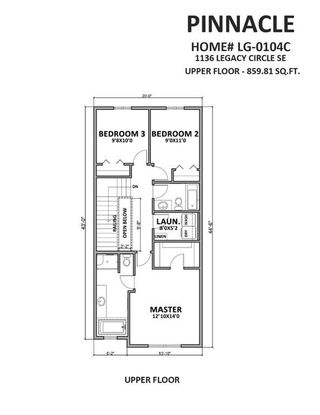 Photo 6: 1136 LEGACY Circle SE in Calgary: Legacy Detached for sale : MLS®# A1028091