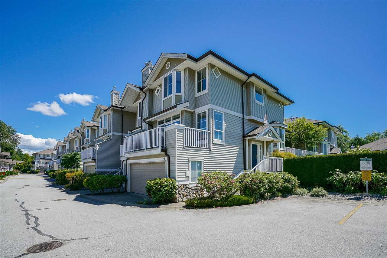 """Main Photo: 29 6950 120 Street in Surrey: West Newton Townhouse for sale in """"Cougar Creek by the Lake"""" : MLS®# R2590856"""