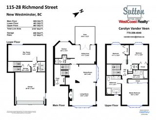 Photo 30: 115 28 RICHMOND Street in New Westminster: Fraserview NW Townhouse for sale : MLS®# R2603835