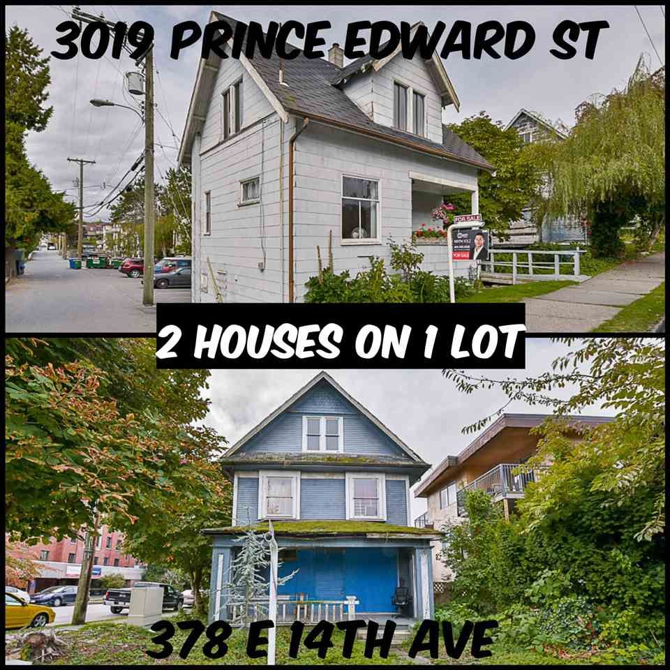 Main Photo: 378 E 14 Avenue in Vancouver: Mount Pleasant VE House for sale (Vancouver East)  : MLS®# R2113202