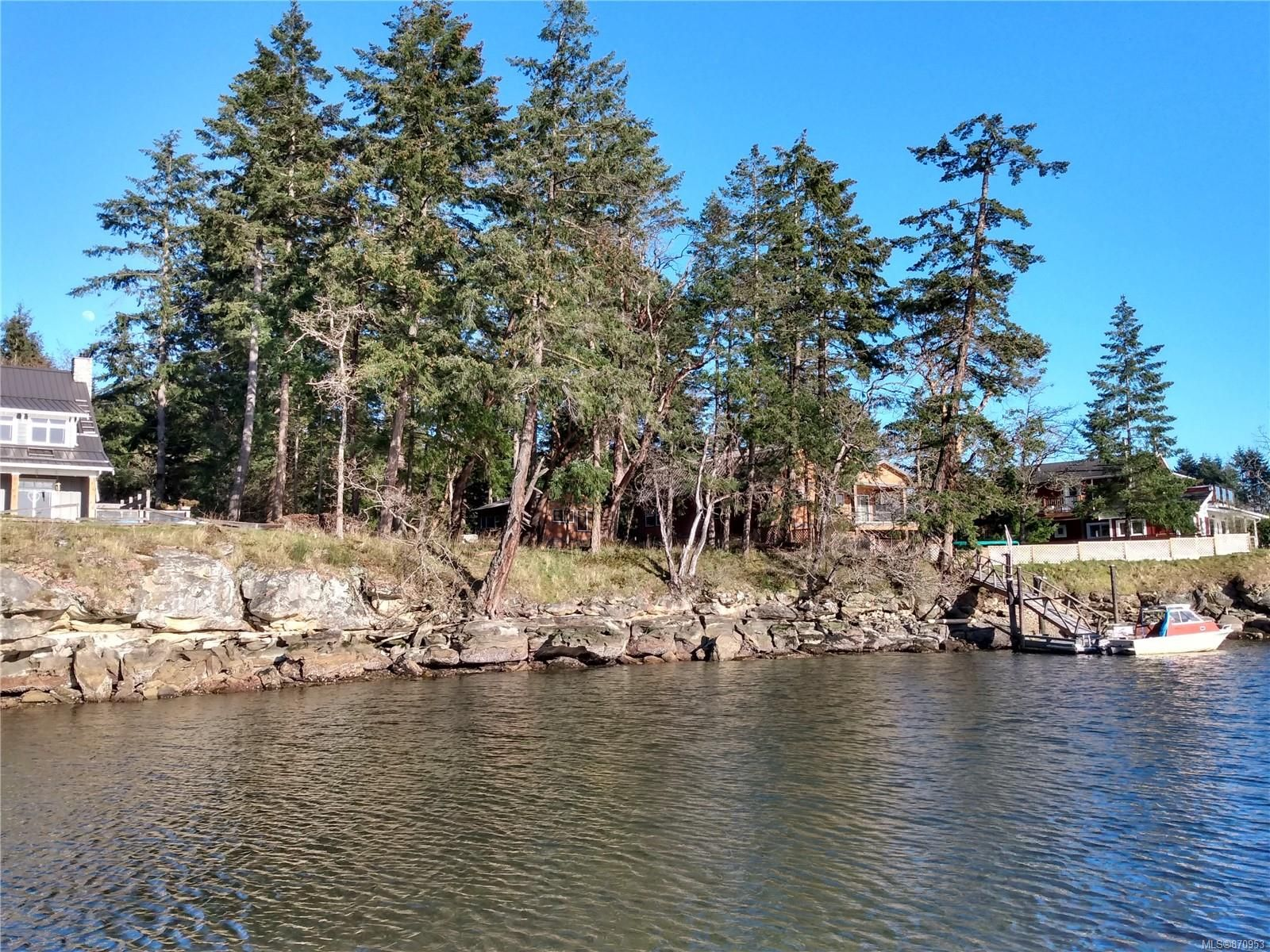 Main Photo: 161 Colvilleton Trail in : Isl Protection Island Land for sale (Islands)  : MLS®# 870953