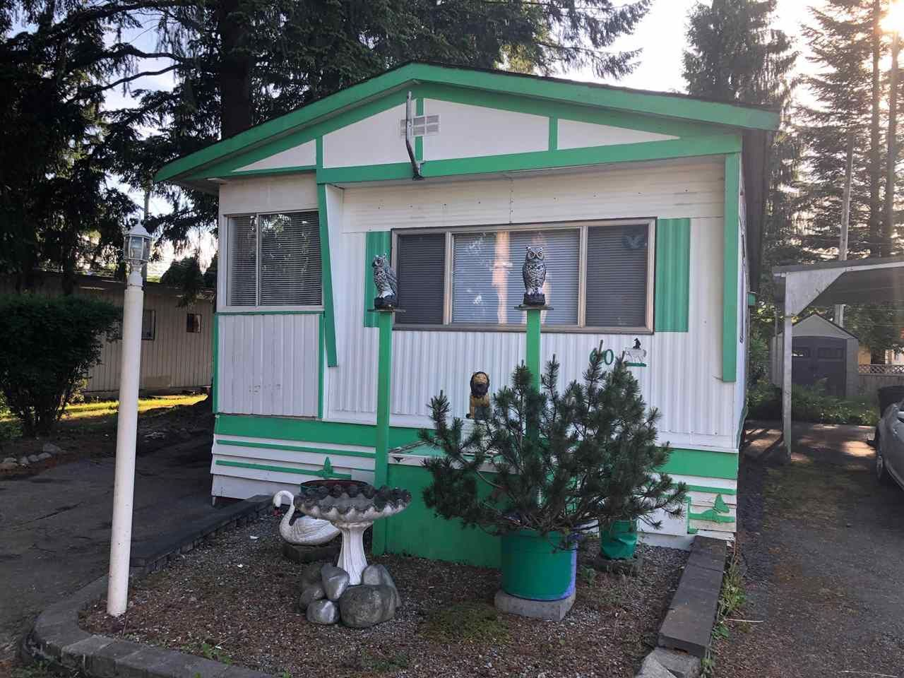 """Main Photo: 60 21163 W LOUGHEED Highway in Maple Ridge: Southwest Maple Ridge Manufactured Home for sale in """"Val Maria Mobile Home Park"""" : MLS®# R2583446"""
