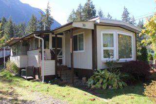Photo 1: 26 65367 KAWKAWA LAKE Road in Hope: Hope Kawkawa Lake House for sale : MLS®# R2114506