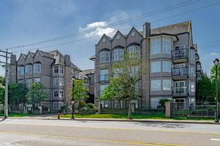 """Photo 1: #407 20200 56 Avenue in Langley: Langley City Condo for sale in """"The Bentley"""" : MLS®# R2598723"""